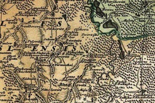 Przewóz w roku 1736